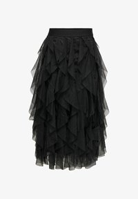 ONLY - A-line skirt - black - 4