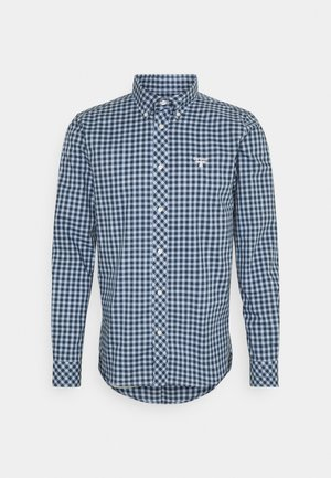 GINGHAM SLIM - Shirt - blue