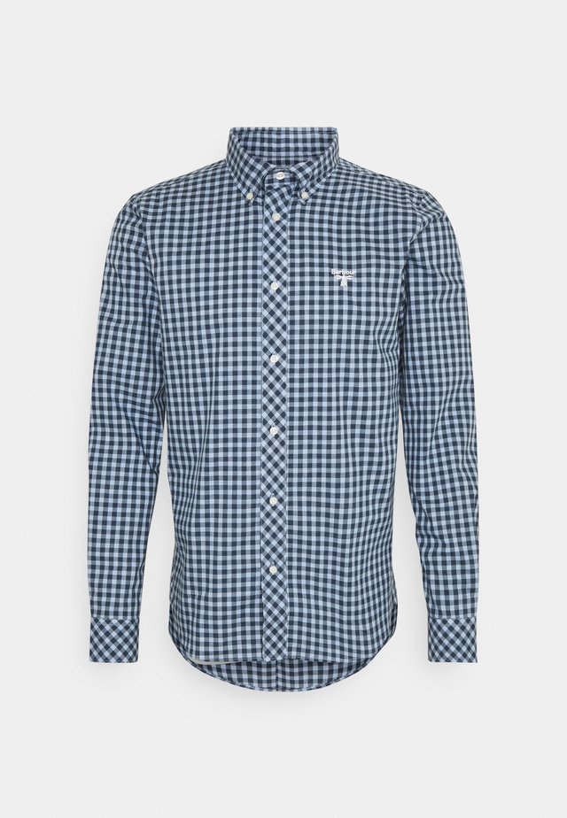 GINGHAM SLIM - Camicia - blue