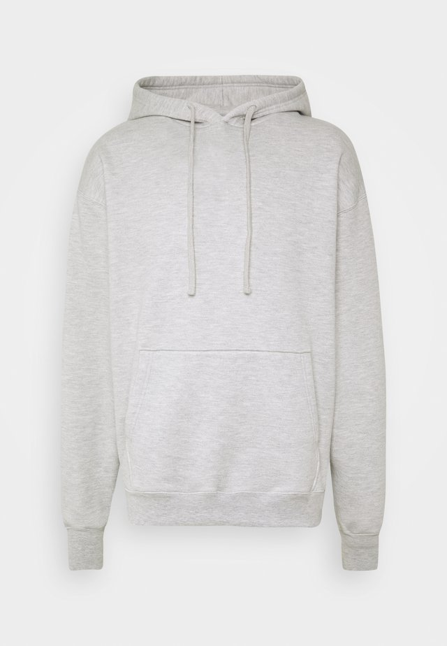 SANDERS - Sweat à capuche - mixed grey