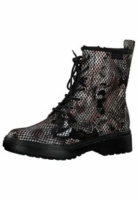 Tamaris - BOOTS - Lace-up ankle boots - snake comb - 2