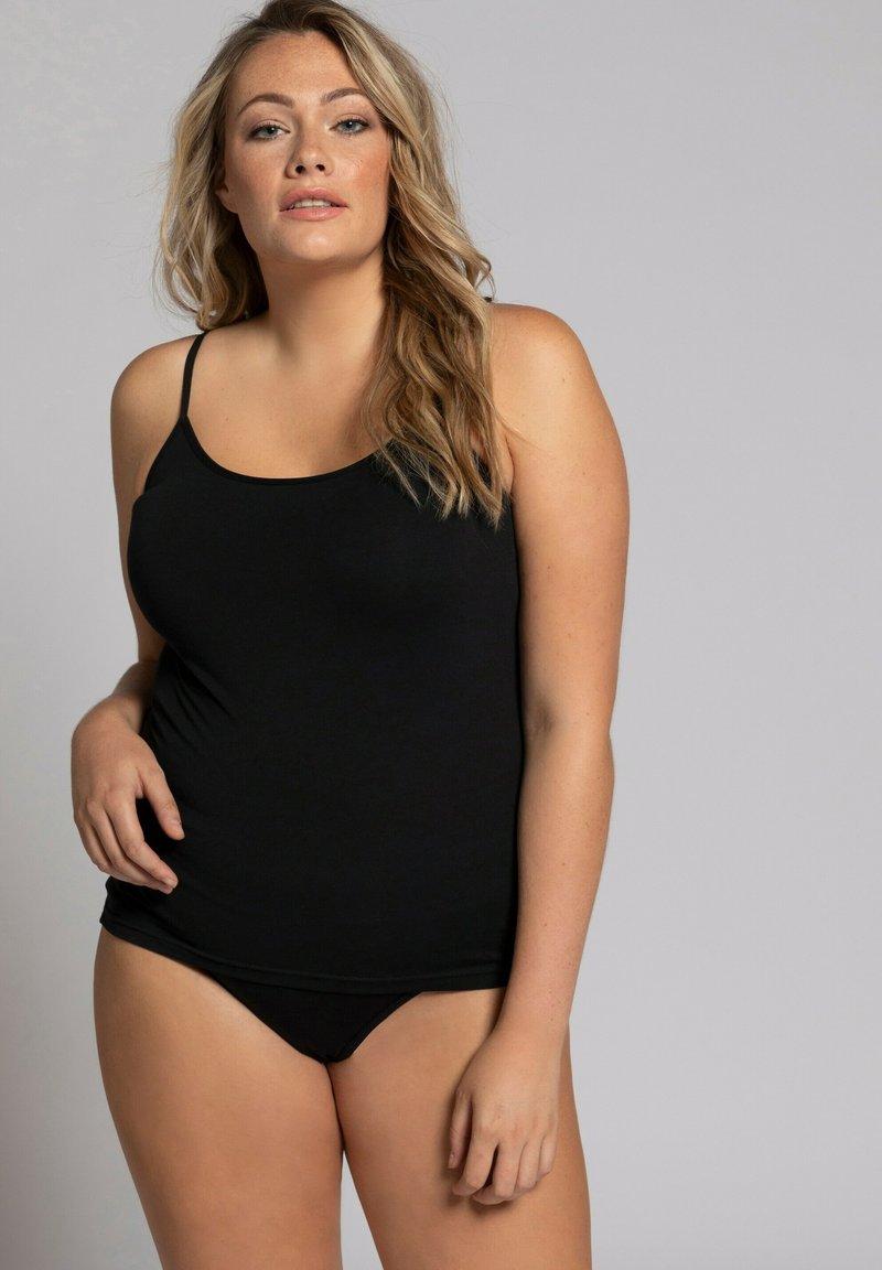Ulla Popken - Pyjama top - black