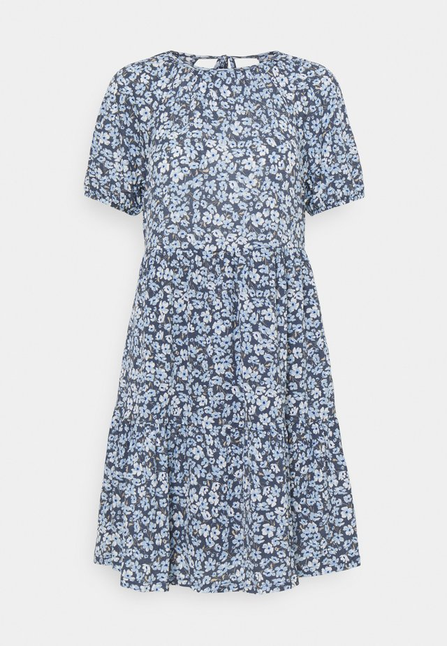 ONLPELLA OPEN BACK DRESS  - Kjole - vintage indigo