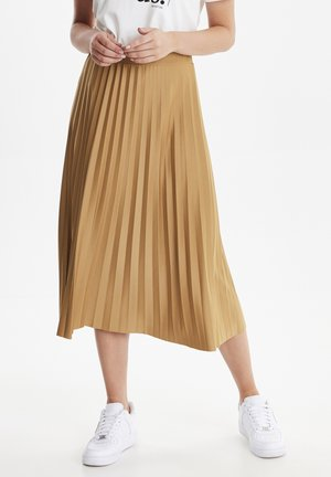 BYTALA  - A-line skirt - brown