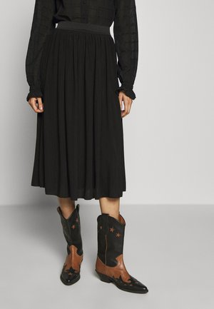 LINA SKIRT - A-line skirt - black