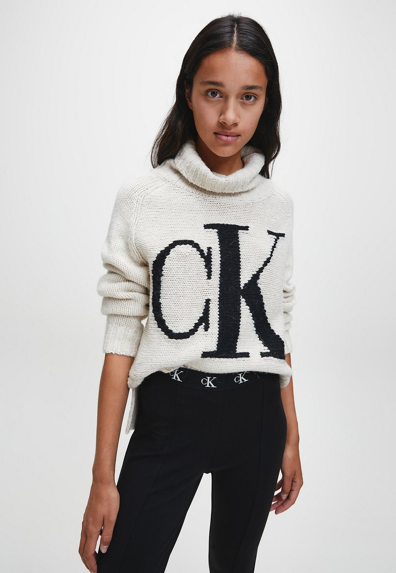 Calvin Klein Jeans - Jumper - soft cream