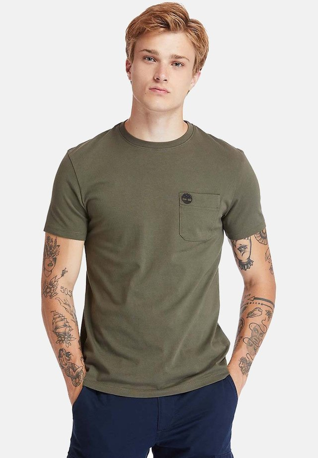 T-shirt basic - grape leaf