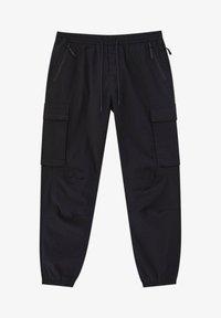 PULL&BEAR - Pantalon cargo - dark grey - 5