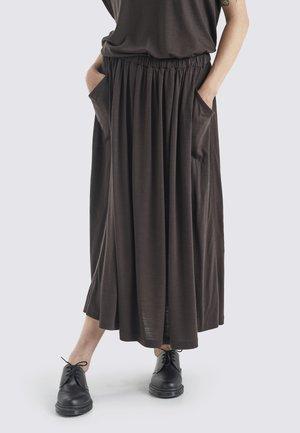 Pleated skirt - ebony