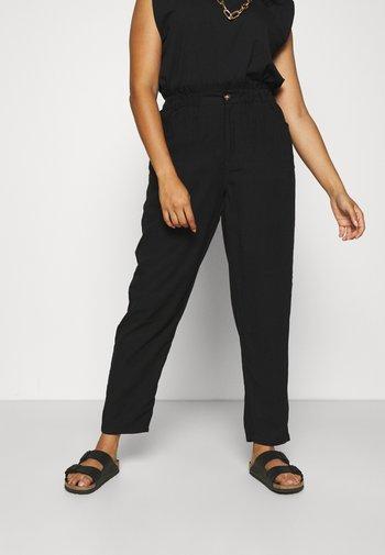 CARARISO LIFEANKEL PANT - Bukse - black