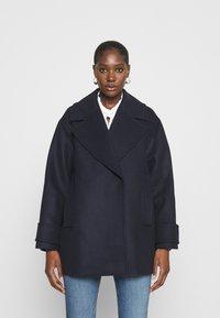 IVY & OAK - EGG SHAPED COAT - Classic coat - navy blue - 0