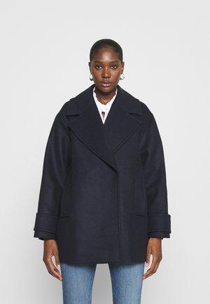 EGG SHAPED COAT - Classic coat - navy blue