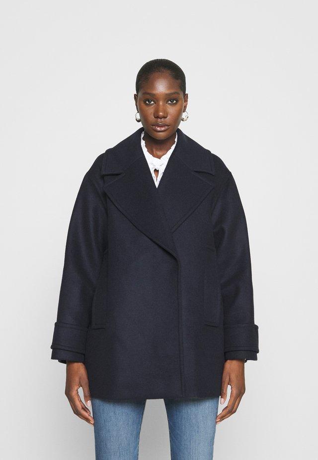 EGG SHAPED COAT - Cappotto classico - navy blue
