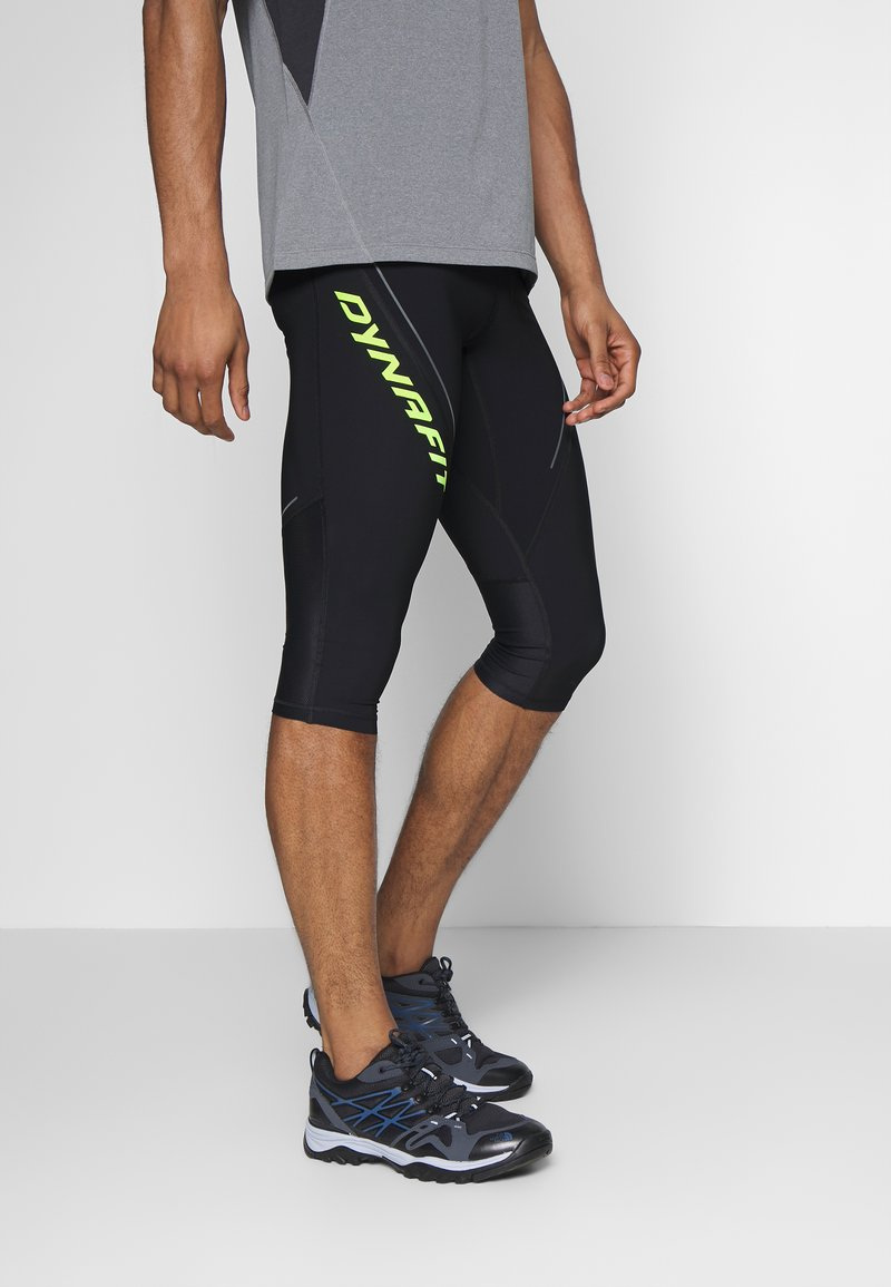 Dynafit - ALPINE - 3/4 sportovní kalhoty - black out