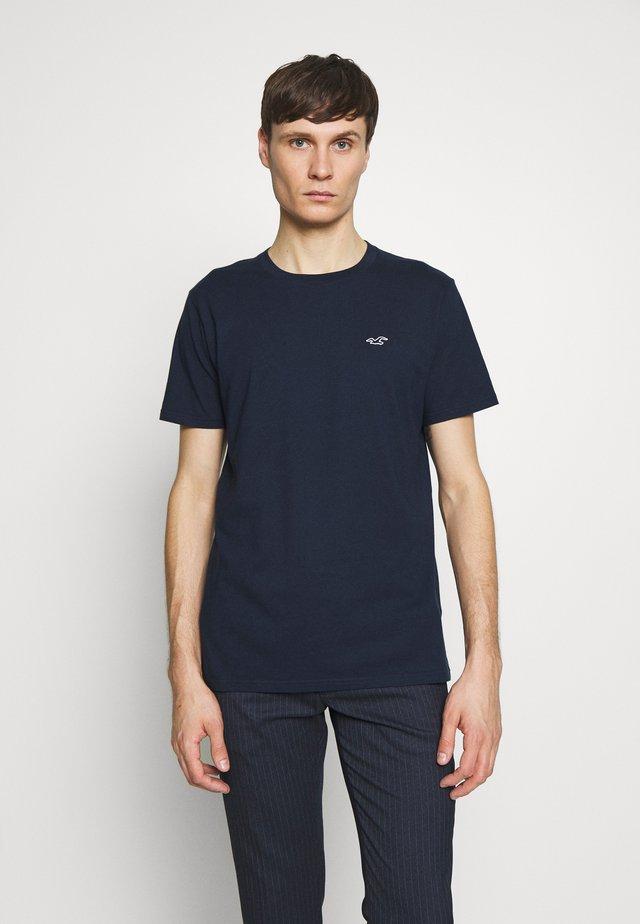 CREW SOLIDS - Camiseta básica - navy
