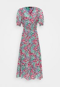 Marks & Spencer London - FRILL WAISTED MID - Day dress - multicoloured - 0