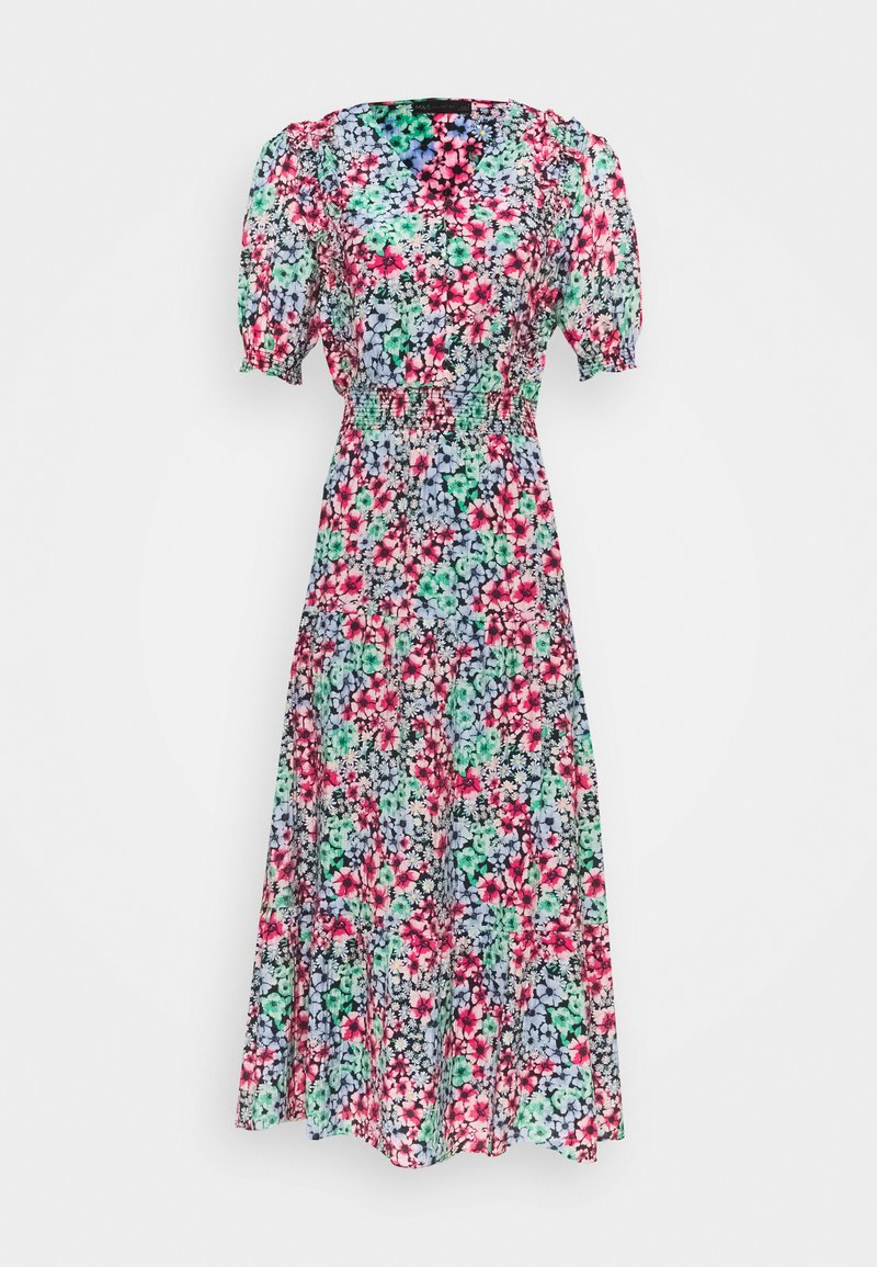 Marks & Spencer London - FRILL WAISTED MID - Day dress - multicoloured