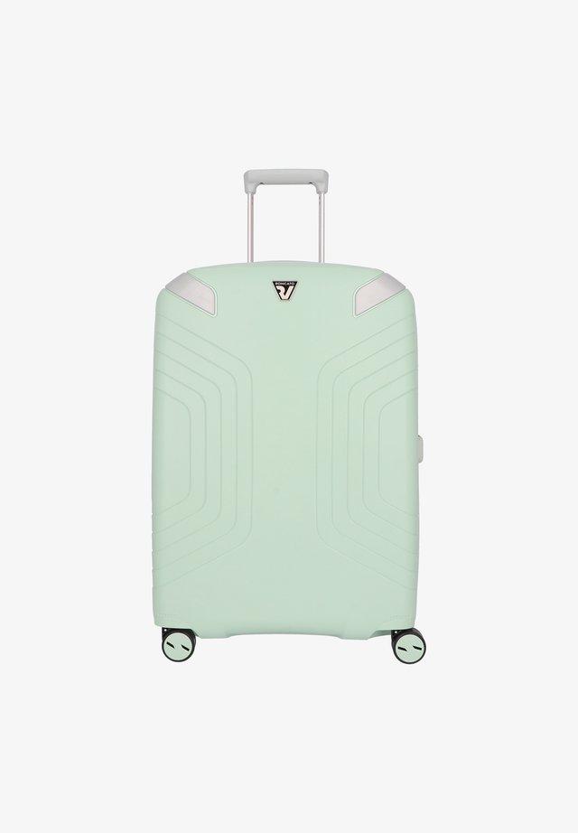 Wheeled suitcase - acquamarina