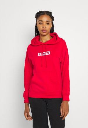 GRAPHIC STANDARD HOODIE - Sweat à capuche - boxtab white/brilliant red