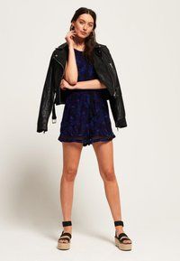 Superdry - Jumpsuit - Navy Moody Tropical - 1