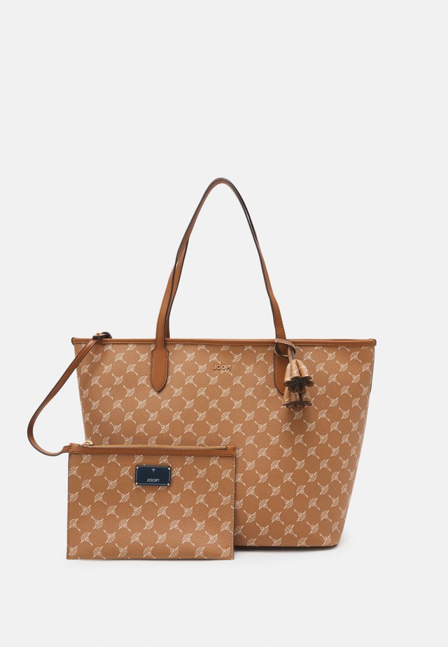CORTINA LARA SHOPPER SET - Shopping Bag - cognac