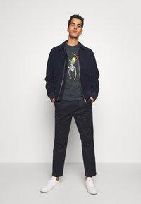 PS Paul Smith - DRUM SKELETON - Print T-shirt - dark grey - 1