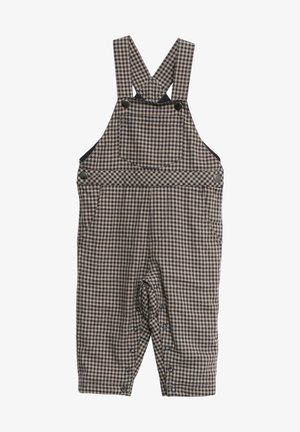 Dungarees - midnight blue check