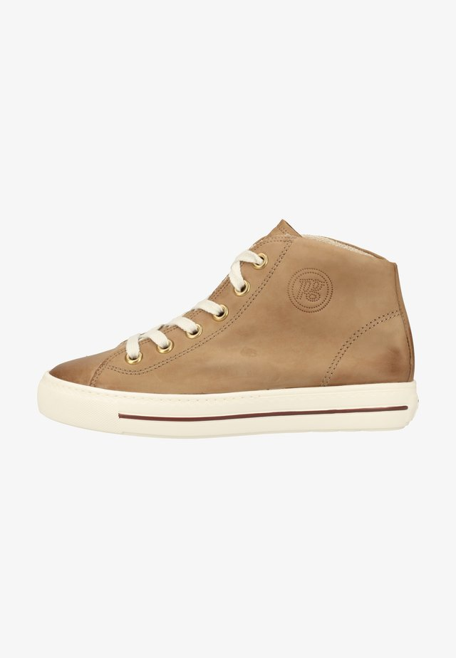 High-top trainers - rehbraun 217