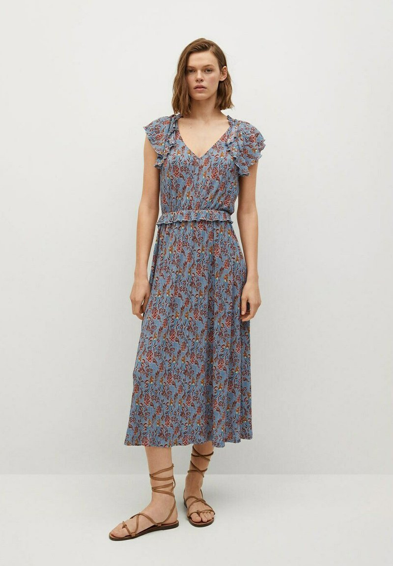 Mango - Day dress - azul