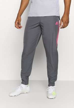 REAL MADRID AEROREADY SPORTS FOOTBALL PANTS - Squadra - grey five