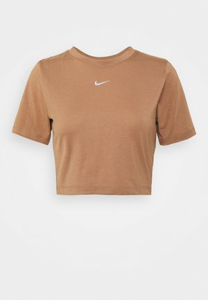 TEE - Camiseta estampada - brown