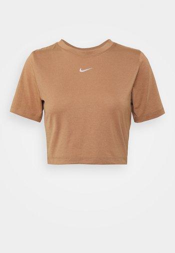 TEE - Print T-shirt - brown