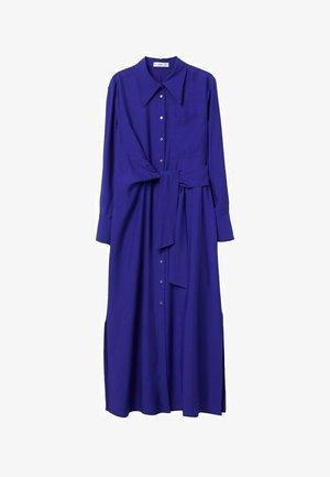Gebreide jurk - bleu