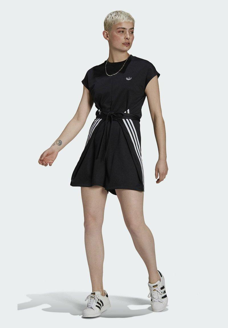 adidas Originals - SHORT JUMPSUIT - Mono - black