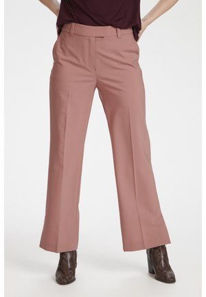 Trousers - ash rose
