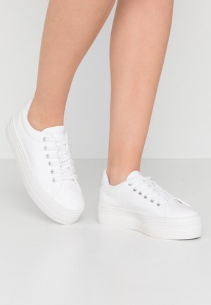 PLATO - Sneaker low - white/fox white