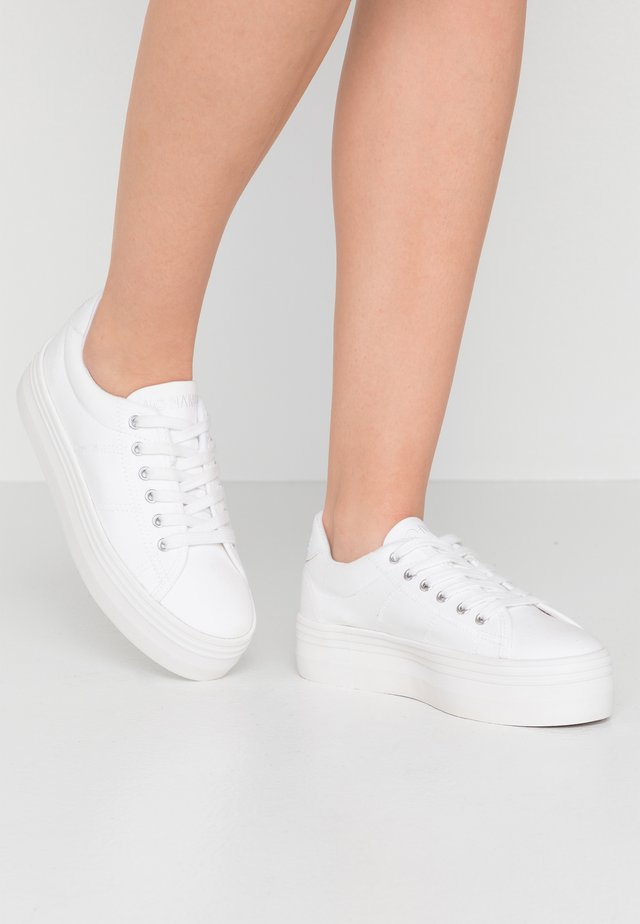 PLATO - Sneakers laag - white/fox white