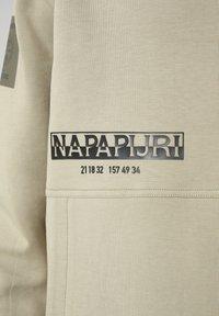 Napapijri - B-OAHU H - Luvtröja - silver sage - 7