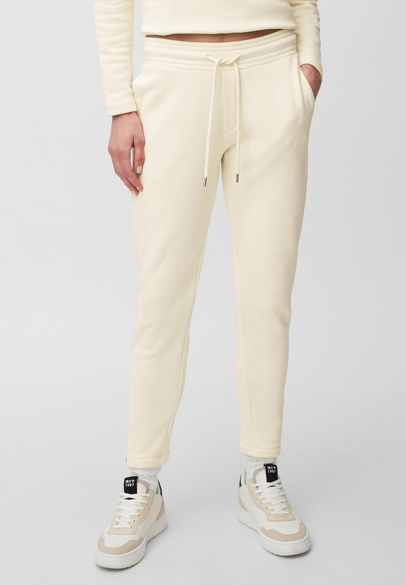Marc O'Polo - Tracksuit bottoms - raw cream