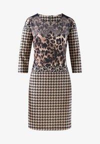 Alba Moda - Day dress - marineblau braun - 5
