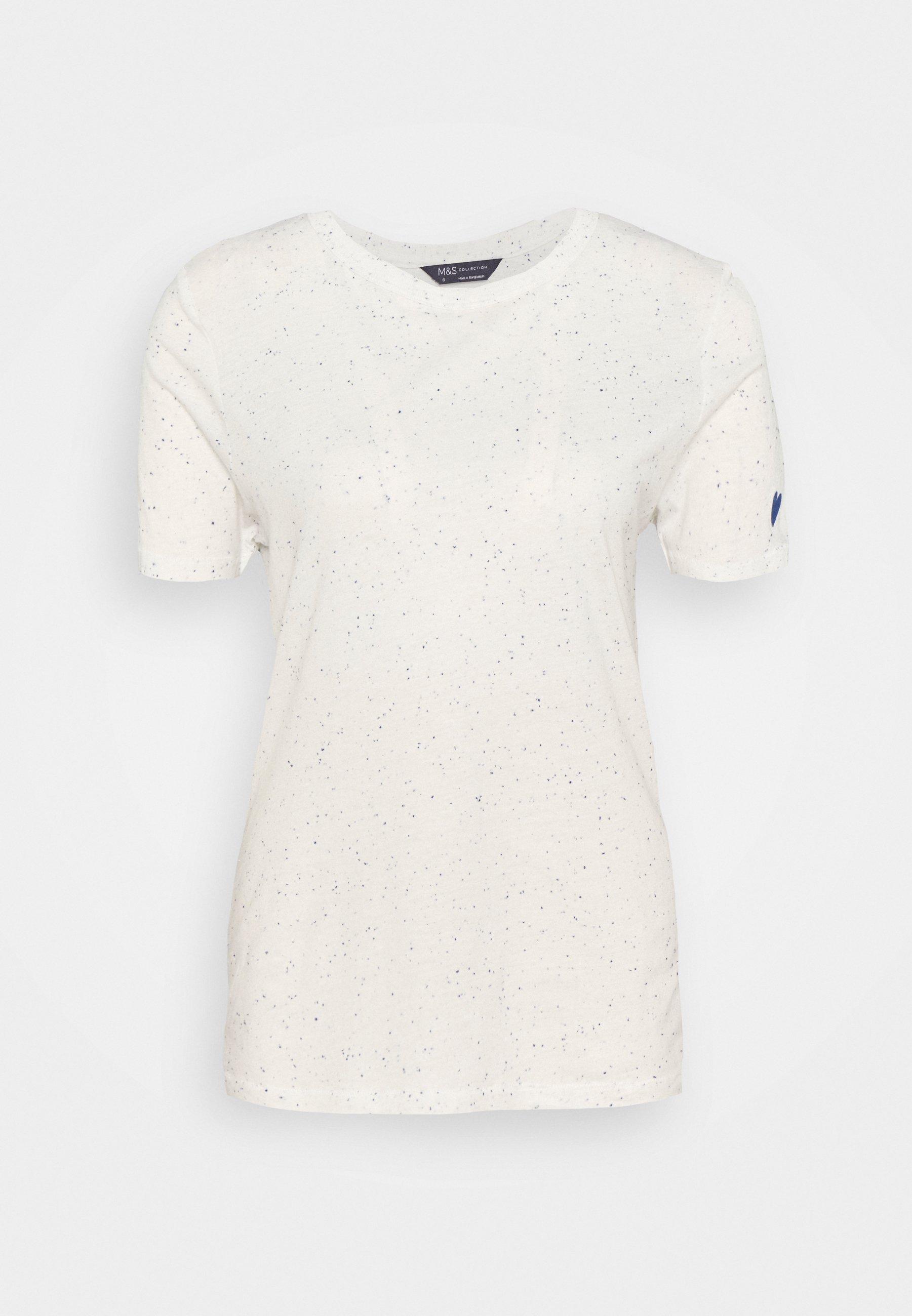 Damen AUTH NEPPY TEE - T-Shirt print