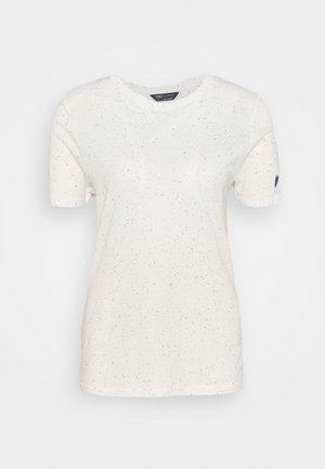 AUTH NEPPY TEE - T-shirt print - light blue