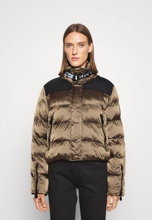 IPNOTICO IMBOTTITO CANGIANTE - Zimní bunda - black/brown