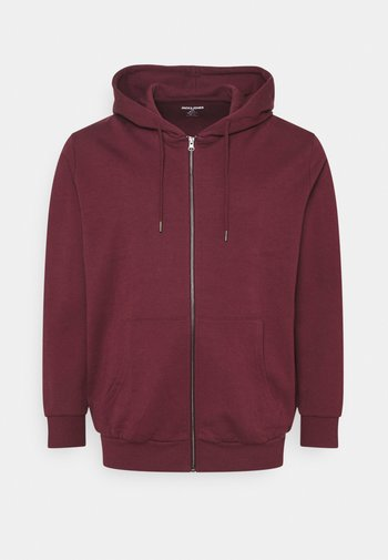 JJEBASIC ZIP HOOD - Zip-up sweatshirt - port royale