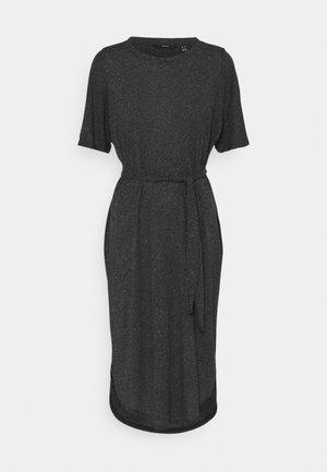 VMALONA 2/4 CALF DRESS - Jersey dress - black