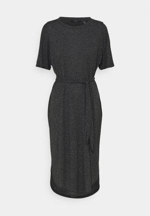 VMALONA 2/4 CALF DRESS - Jerseyjurk - black