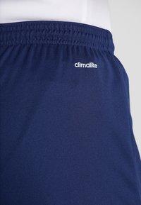adidas Performance - PARMA PRIMEGREEN FOOTBALL 1/4 SHORTS - Korte sportsbukser - dark blue/white - 5