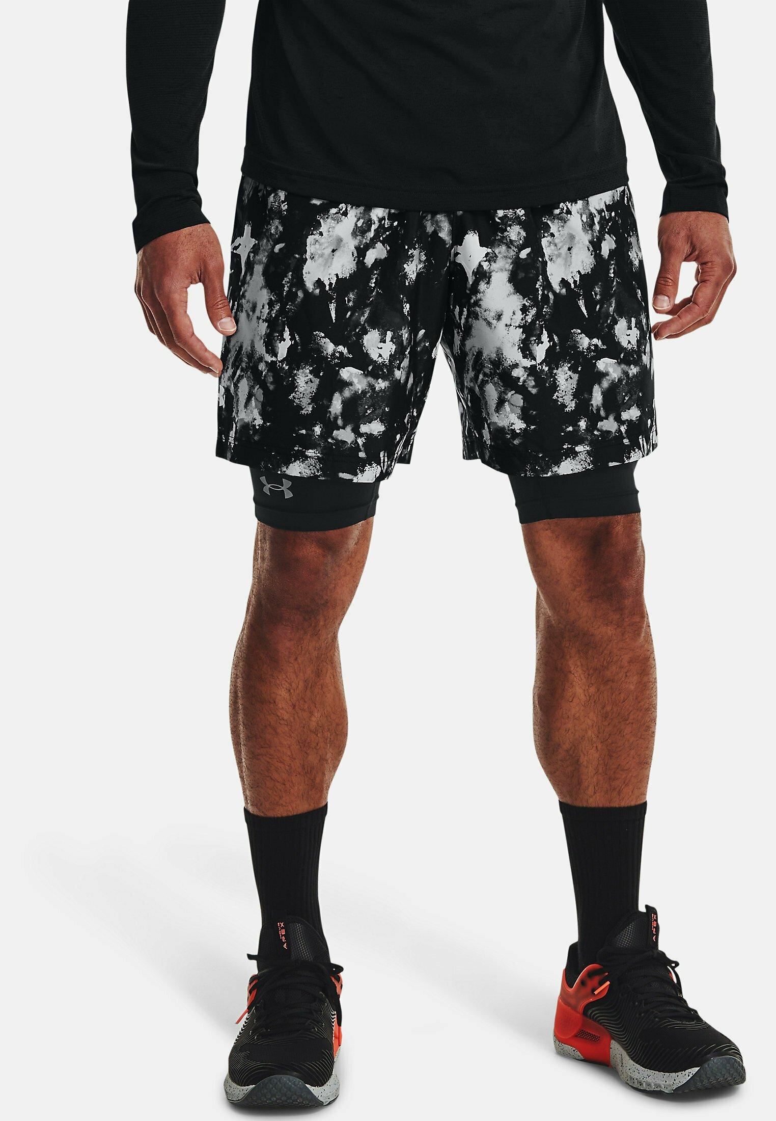 Men UA WOVEN ADAPT BLK - Sports shorts