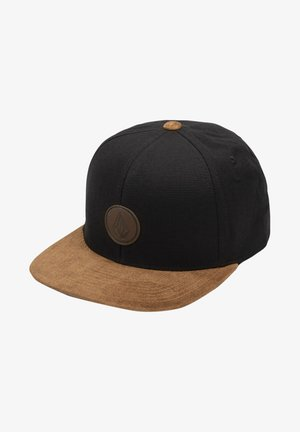 QUARTER FABRIC - Cap - brushed black