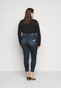 Simply Be - HIGH WAIST  - Jeans Skinny Fit - indigo - 2